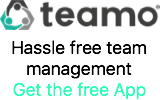 Teamo - The team management App