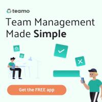 Teamo - The team management App